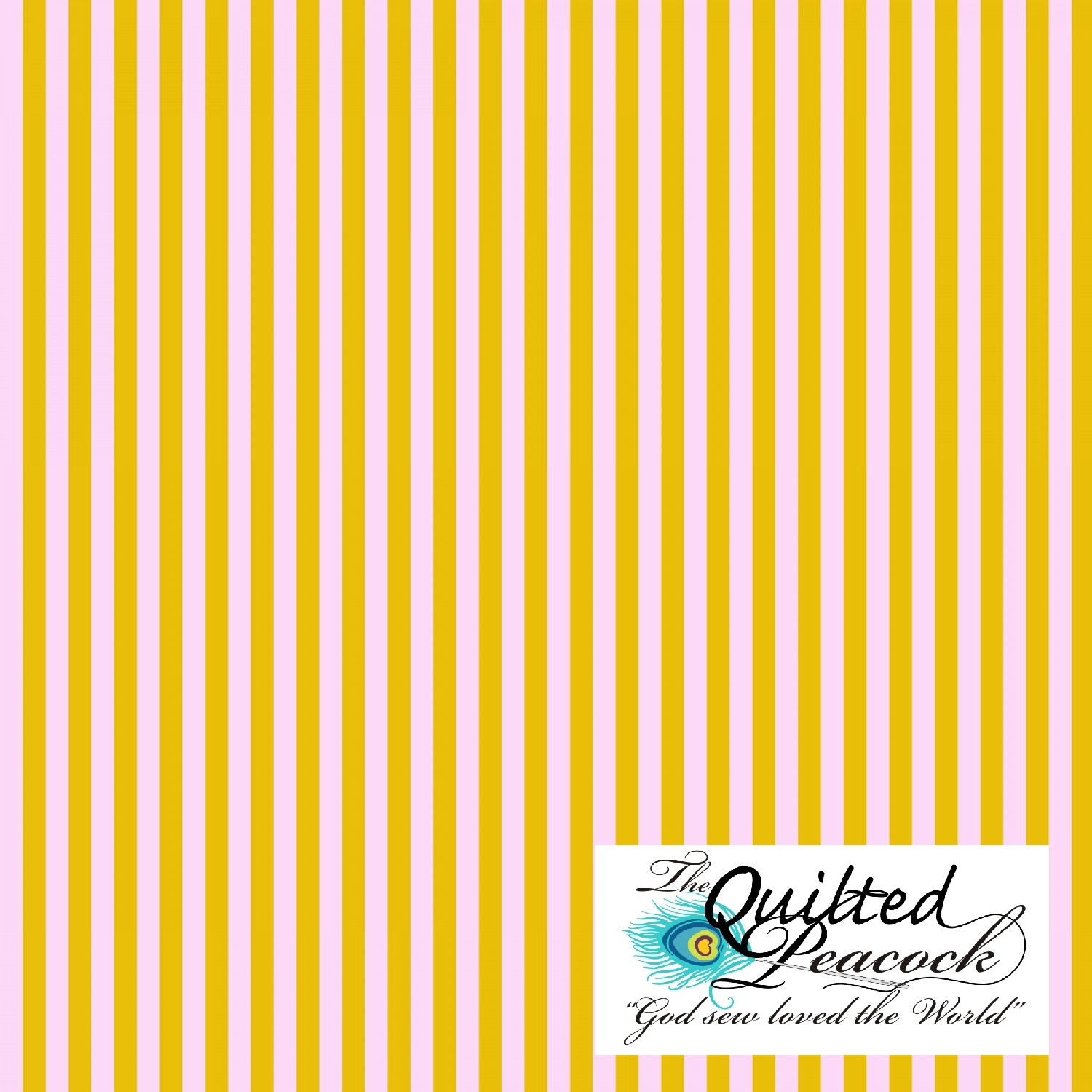 aef907585be Tula Pink All-Stars Stripes Marigold Half Yard